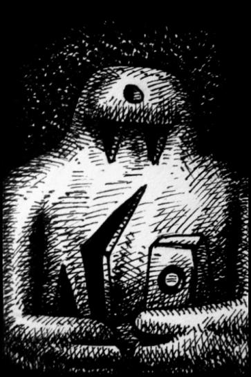 Golem (Zeichnung: urian)