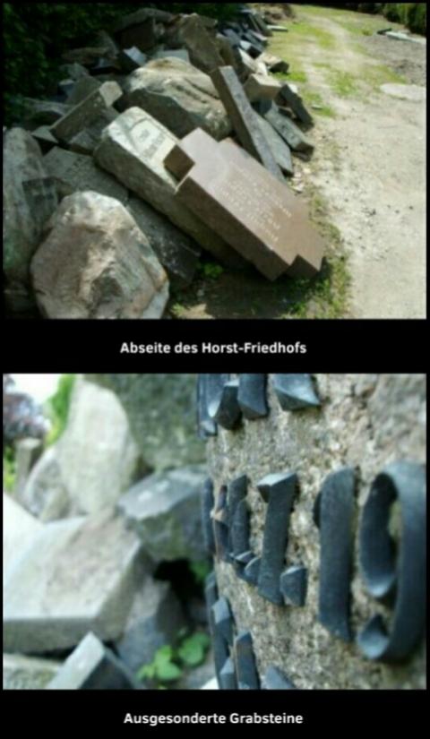 Horst-Friedhof (Fotos: urian)