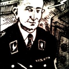 Arthur Nebe (Zeichnung: urian)
