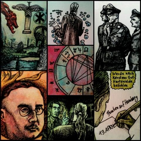 Himmlers Astrologe (Zeichnungen: urian)