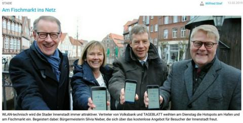 screenshot Stader Tageblatt 12.02.2019
