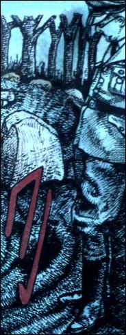 Heinrich Himmler (Zeichnung: urian)