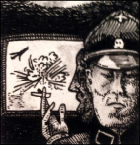 Himmler und Kiermaier (Zeichnung: urian)
