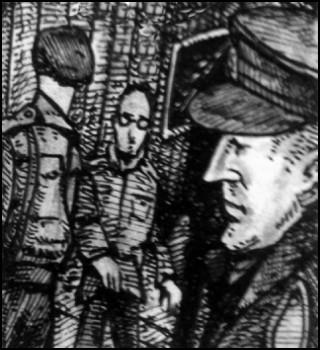 Himmler und Murphy (Zeichnung: urian)