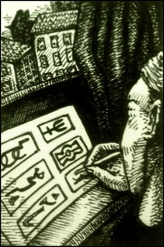 Mach Schach (Zeichnung: urian)