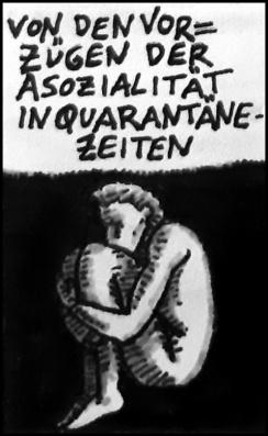 Seuchentagebuch (Zeichnung: urian)